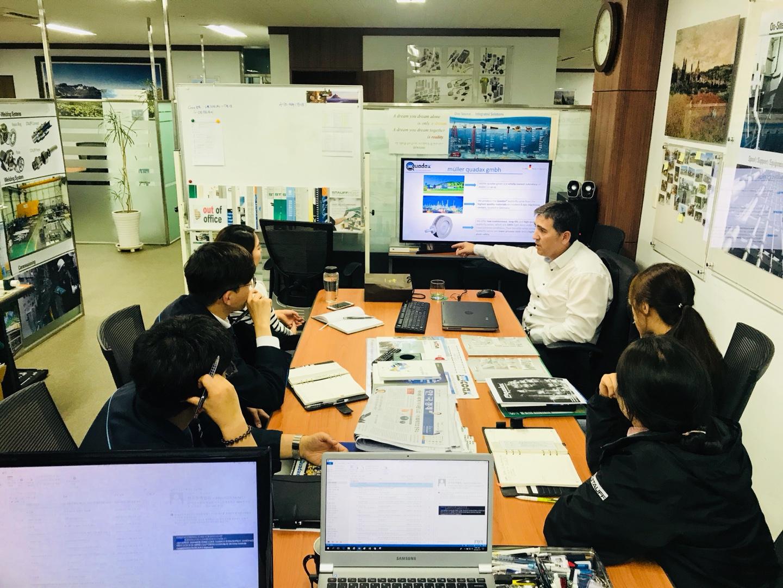 Partnership Agreement With Mller Quadax Gmbh Stauff Korea Jp